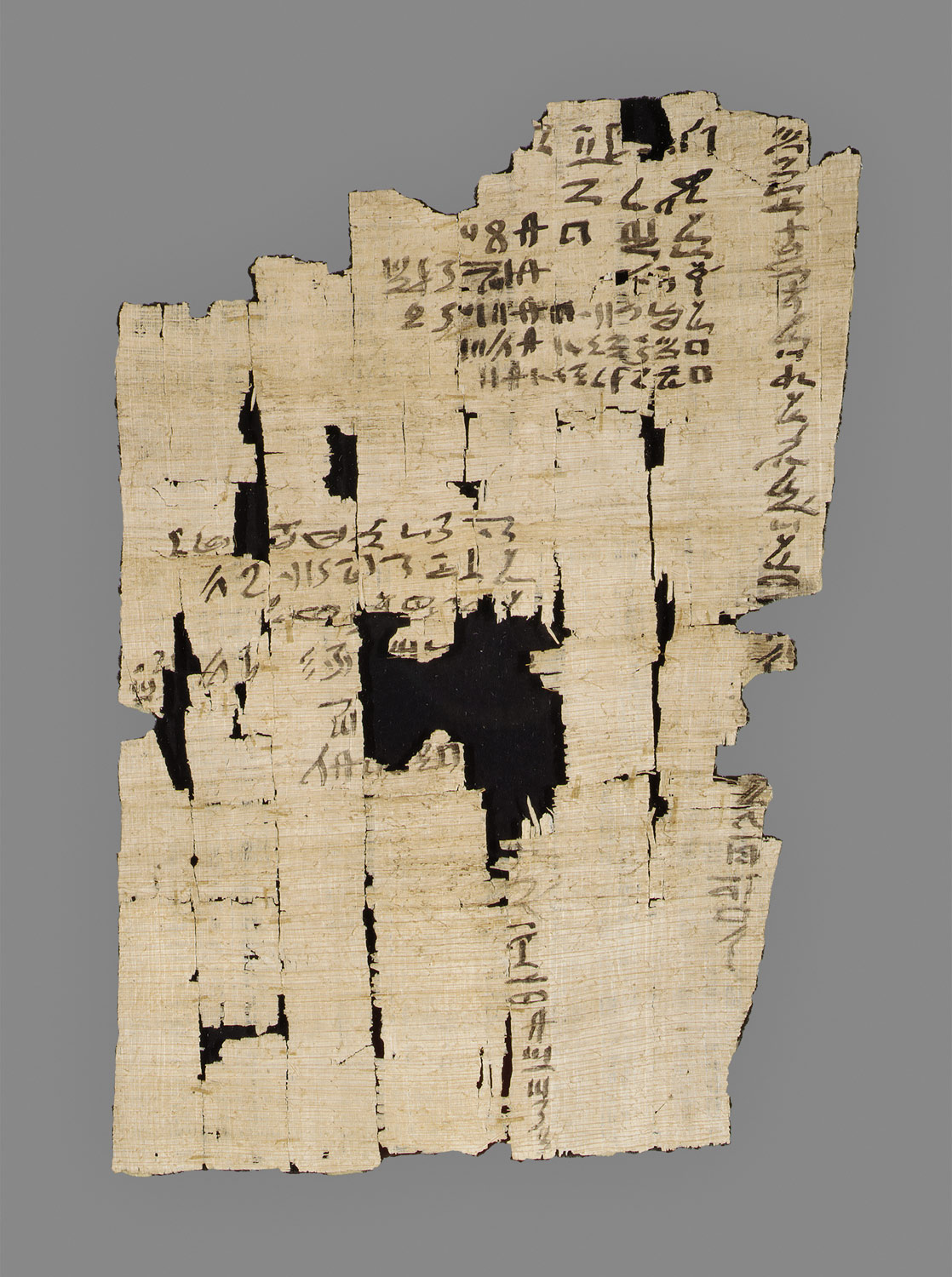 Heqanakht papyrus containing reference to the month of Shef-bedet (2)