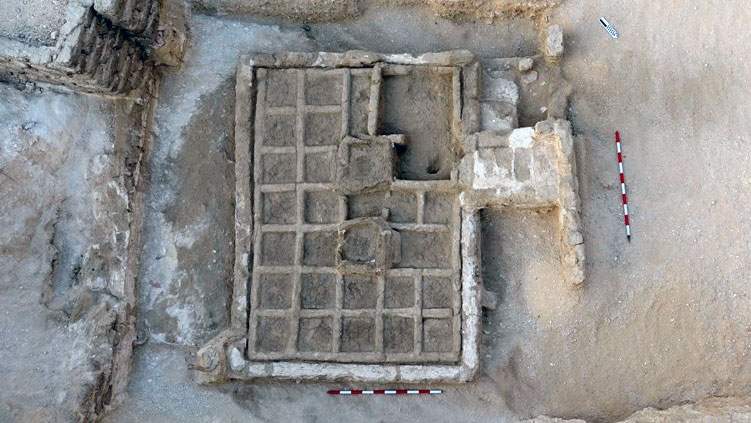 Discovery of a Funerary Garden at Luxor (Photo: Ministry of Antiquities)