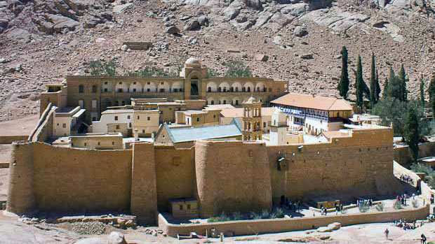 A medical text was among the discoveries made at Saint Catherine's Monastery in the Sinai (Photo: Greek Reporter)