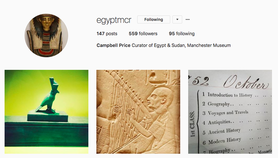 Egypt Curator at Manchester Museum