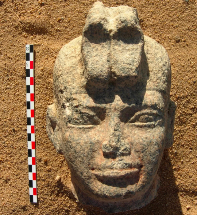 Head of Napatan king Aspelta from Dangeil (Photo: J. Anderson)