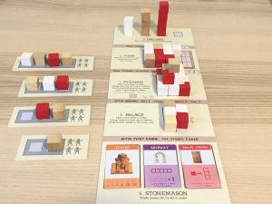 A prototype of Imhotep in the works by Phil Walker-Harding