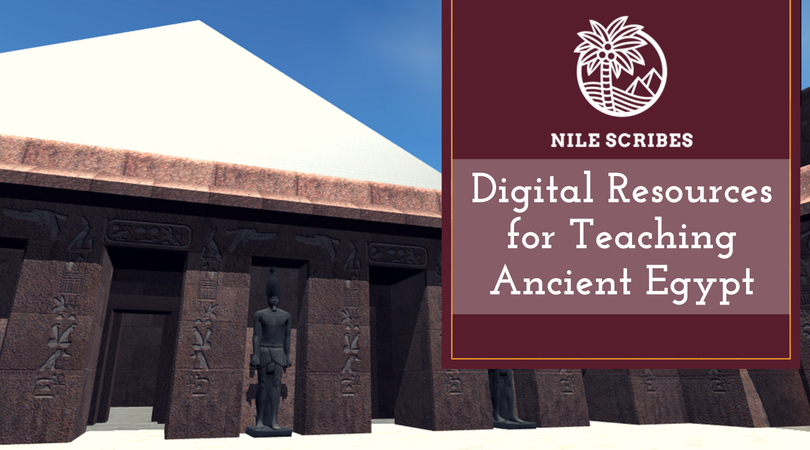Digital Resources for Teaching Ancient Egypt was our most popular blog post in 2018