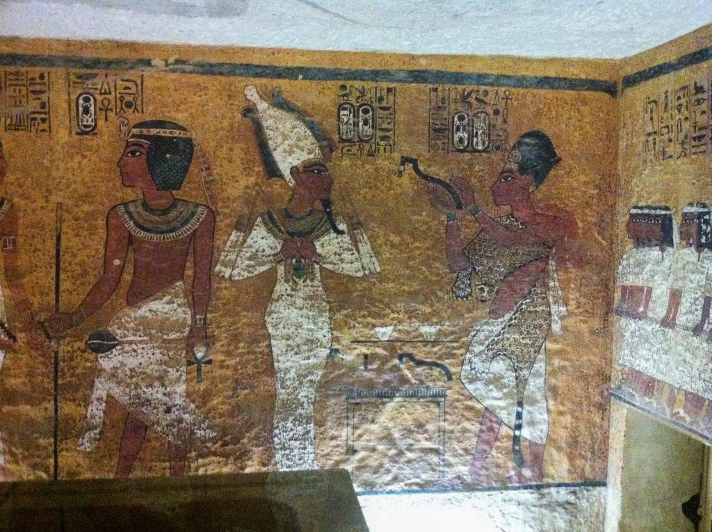 Players begin the game trapped in the burial chamber of Tutankhamun's tomb (photo: Nile Scribes)