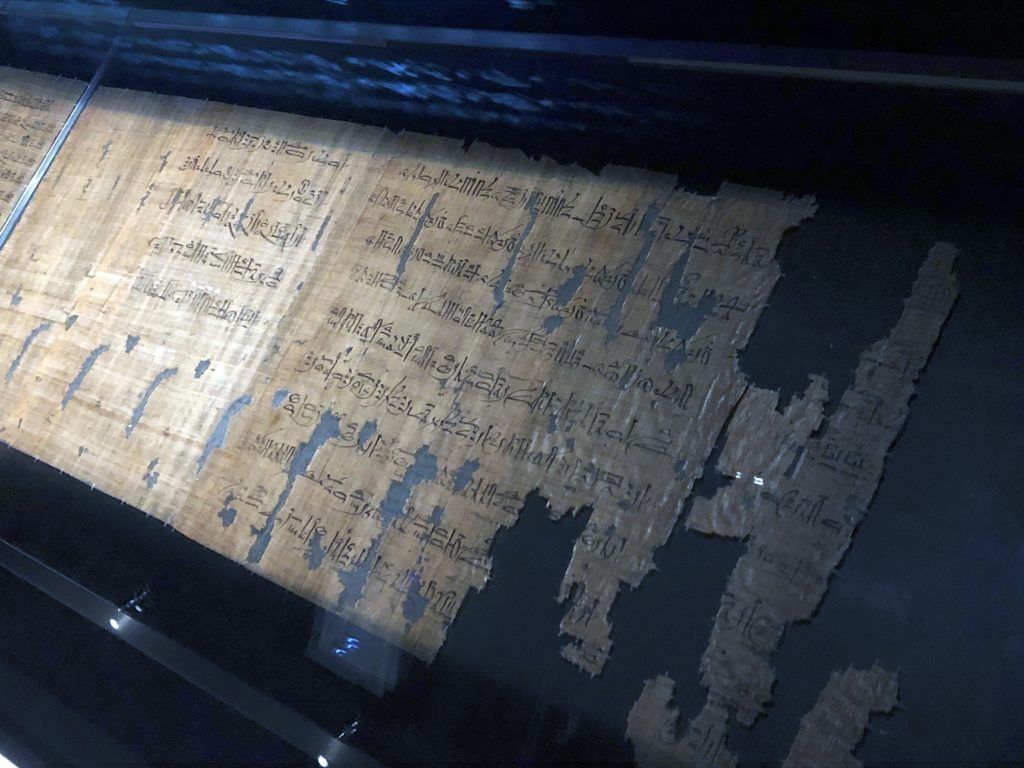 A well-known Egyptian papyrus called the Turin Judiciary Papyrus records a plot to kill Ramesses III - Object No. C.1875 (photo: Nile Scribes)