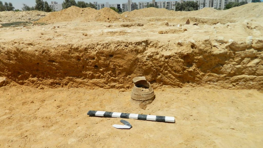 Roman and Byzantine remains were found at Marya near Alexandria (Photo: Ahram Online)