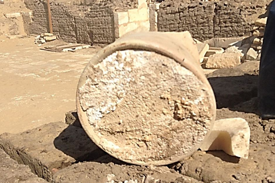 What may be the world's oldest cheese has been discovered in a tomb in Memphis (Photo: University of Catania and Cairo University)