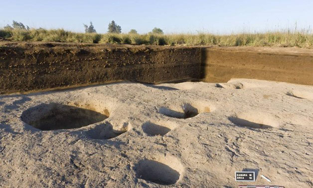 Several buildings including silos have been discovered at            Tell el-Samara in the eastern Delta (photo: Egypt            Independent)