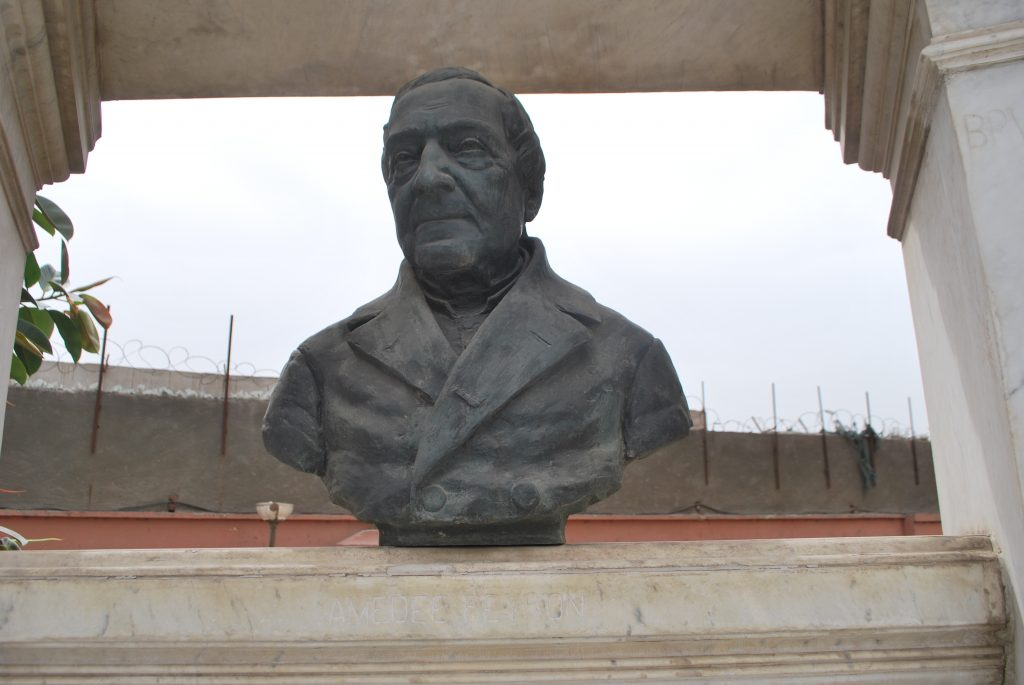 Bust of Amedeo Peyron (Photo: Nile Scribes)