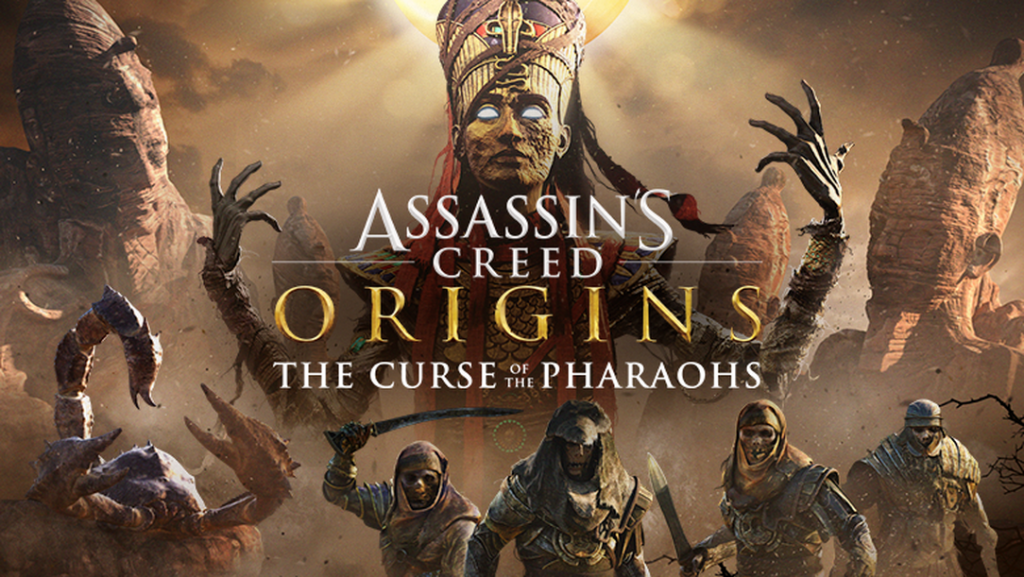 Promotional poster for ACO: The Curse of the Pharaohs (Photo: Ubisoft)