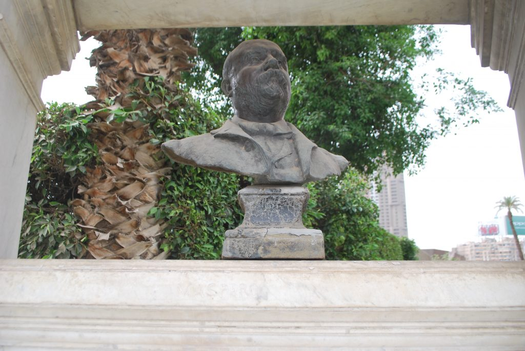 Bust of Gaston Maspero (Photo: Nile Scribes)