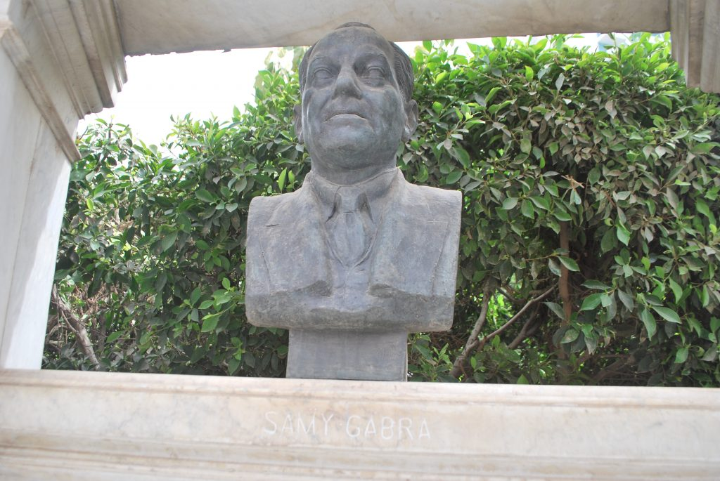 Bust of Samy Gabra (Photo: Nile Scribes)