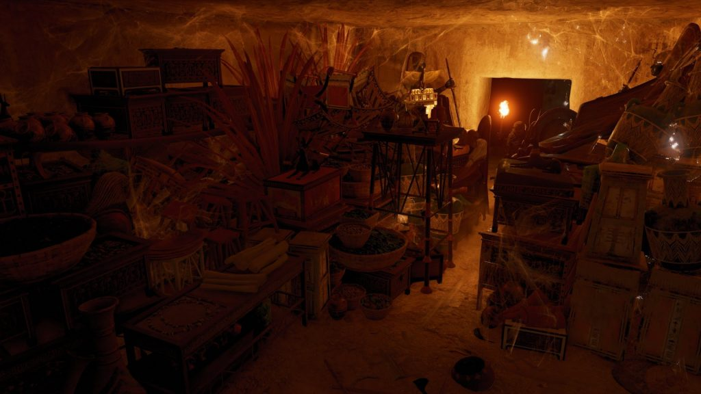 Treasury room in the tomb of Tutankhamun (Photo: Ubisoft)