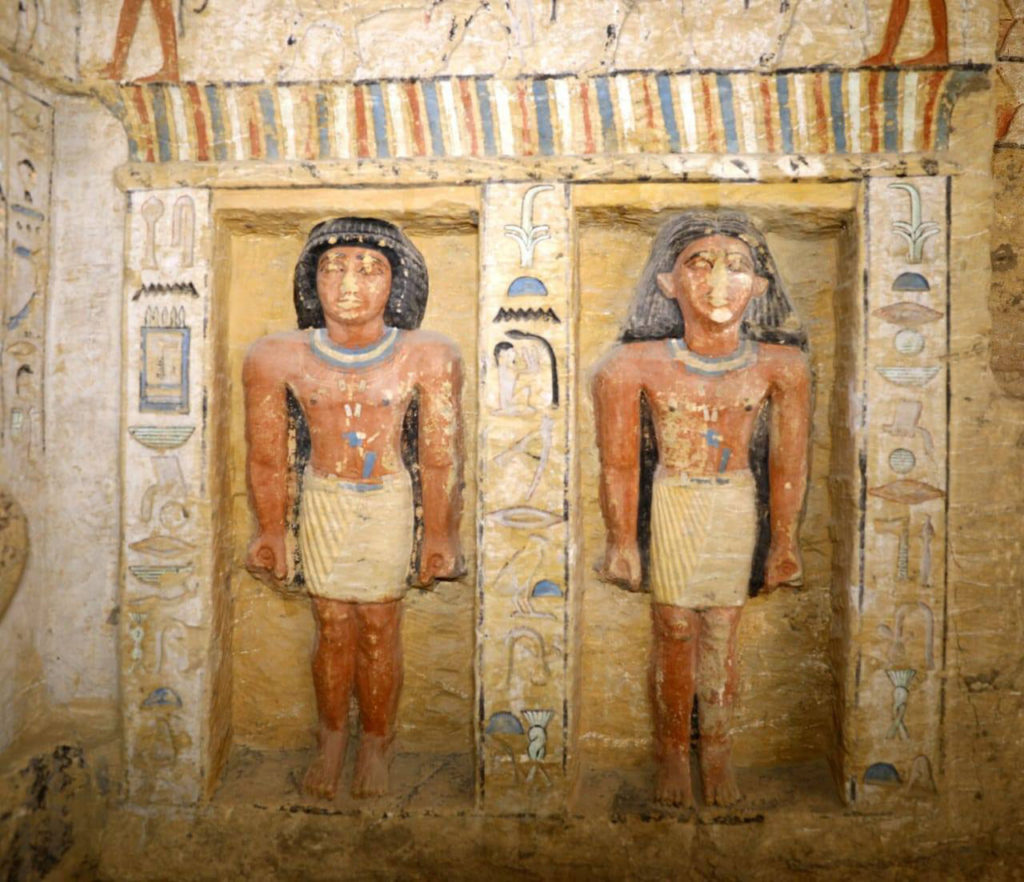 Wahtye's tomb has been preserved in excellent condition            for over four thousand years (Photo: Ministry of Antiquities)