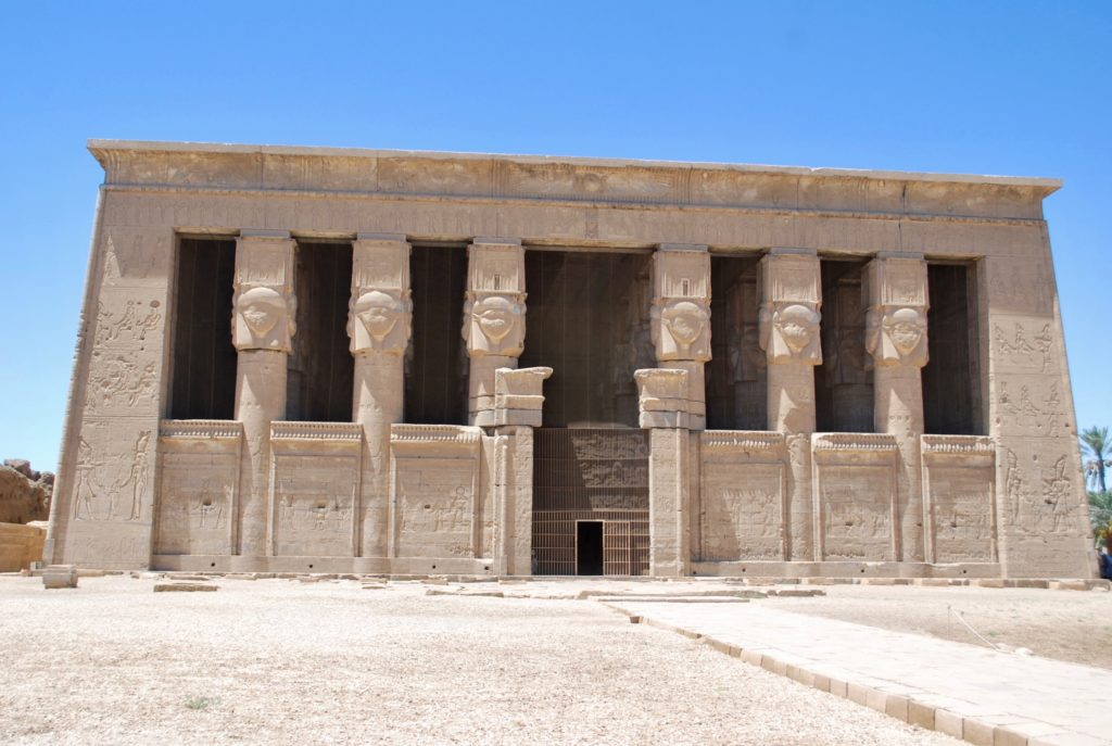 The Dendara complex contains many buildings but the main temple is dedicated to the goddess Hathor (Photo: Nile Scribes)