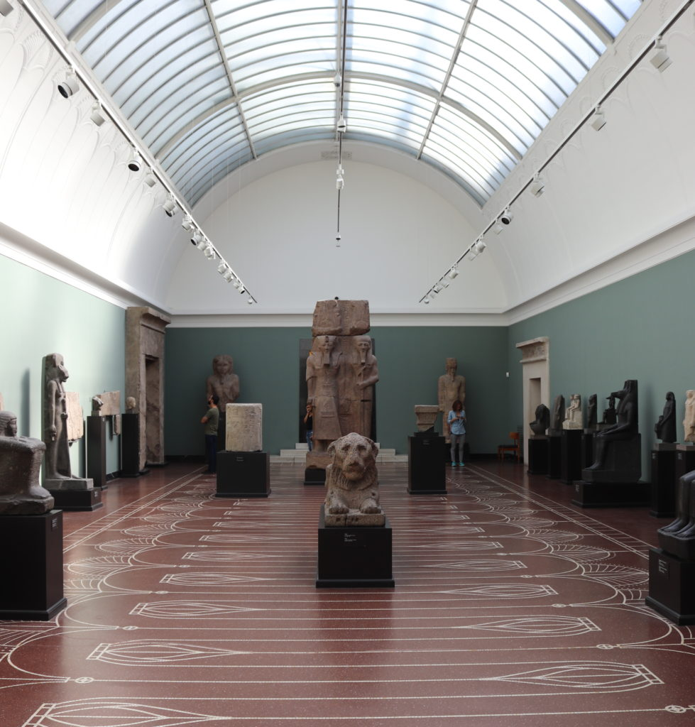 View of the Great Egyptian Gallery (Photo: Katherine            Piper)