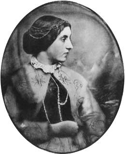 Portrait of Jane Webb Loudon (photo:                      WikiMedia)