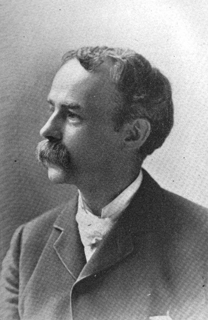 Photo of Julian Hawthorne (photo: WikiMedia)