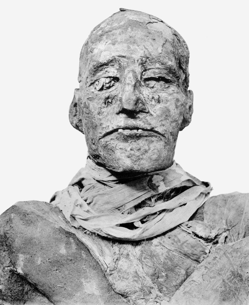 The mummy of Ramesses III is among the best preserved from antiquity (Photo: WikiMedia)