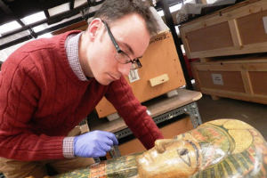 Meet Manchester's Egypt Curator Dr. Campbell Price