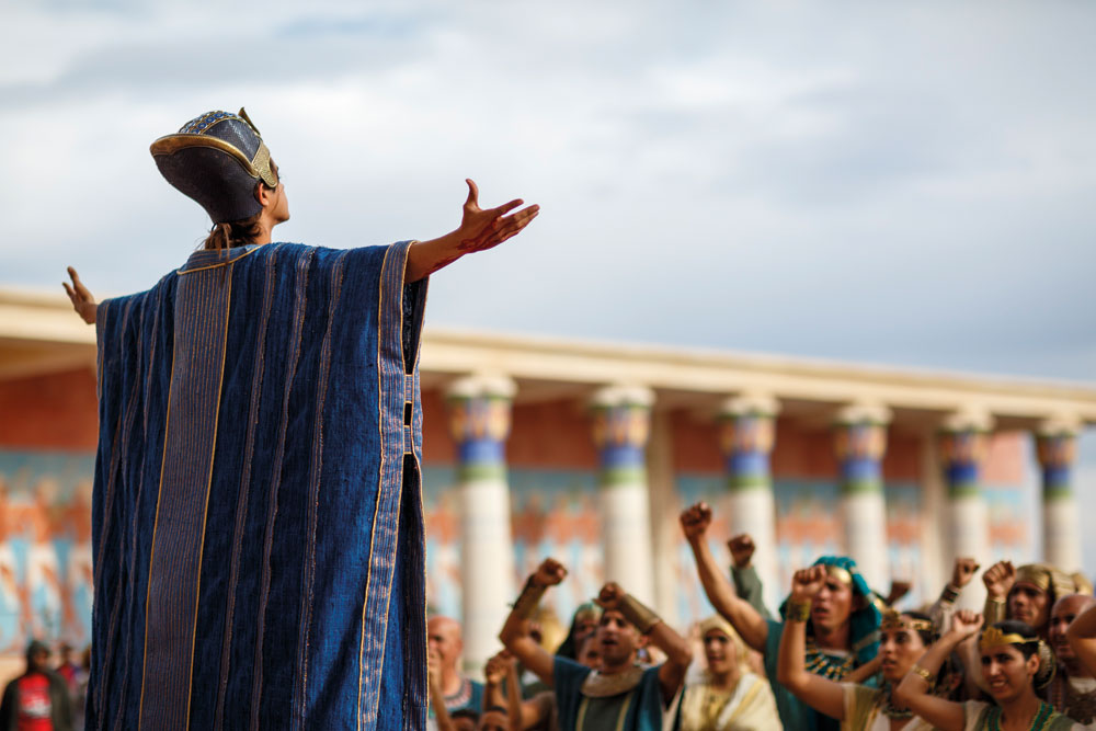In Tut, Tutankhamun presides over Egypt from his palace in Thebes (Photo: Spike TV)