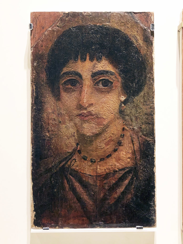 This mummy portrait of a woman was repurchased by the Royal Ontario Museum in late 2018 and was recently unveiled at a special lecture (accession no. 2018.52.1) (Photo: Nile Scribes)