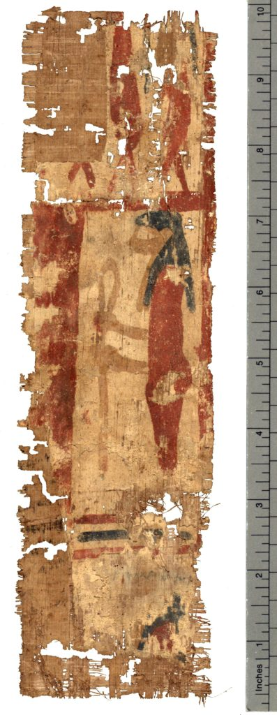 Papyrus Hibeh I                54, recto (Photo: Thomas Fisher Rare Books Library)