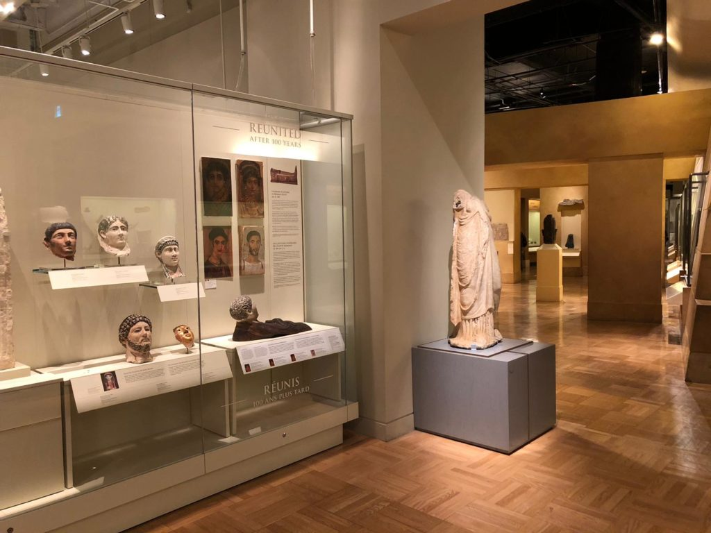 The repurchased portrait can be found hanging among others in the ROM's Eaton Gallery of Rome (Photo: Nile Scribes)