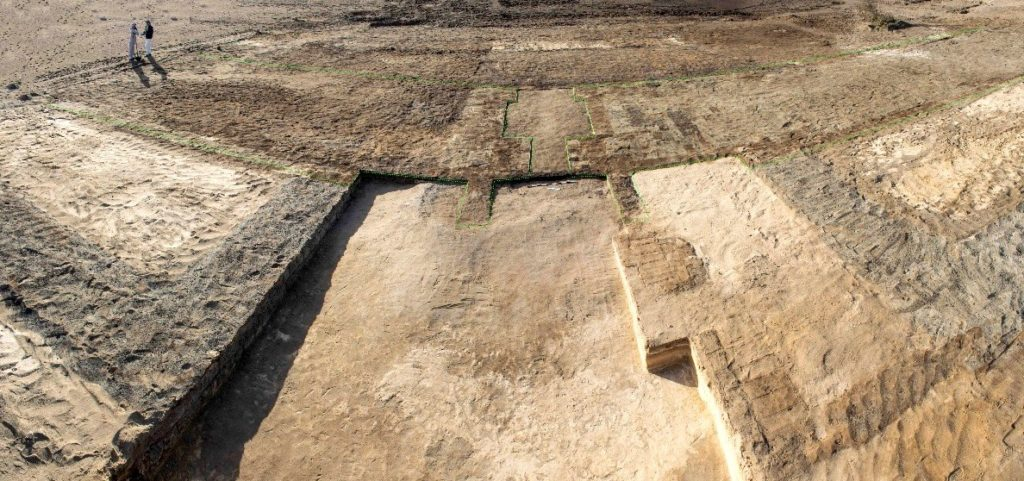 Two towers were identified in recent                      excavations in the Sinai part of a fortress (Photo:                      Luxor Times)