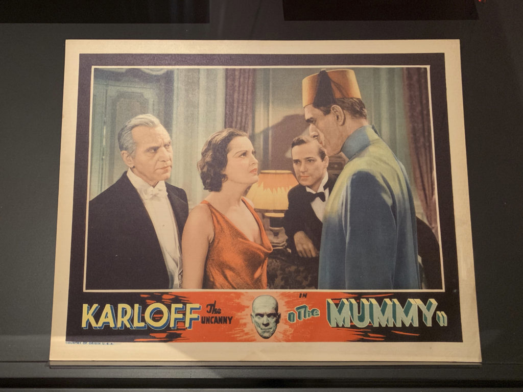 This is one card in a set of lobby cards produced for the film and displayed in movie theatres. They feature actual stills from the film (Photo: Nile Scribes)
