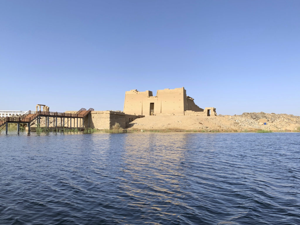 The Temple of Kalabsha was one of four monuments that were moved because of the Aswan Dam construction (Photo: Nile Scribes)